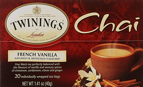 (Twinings of London French Vanilla Chai Tea Bags, 20 Count)