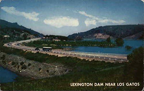 Amazon.com: Lexington Dam Los Gatos, California Original Vintage Postcard: Entertainment Collectibles