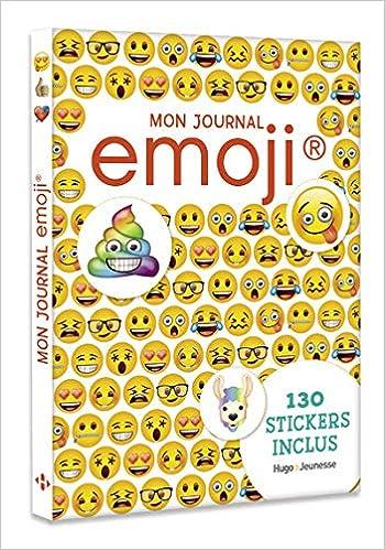 Mon Journal Emoji Amazon Fr Collectif Livres