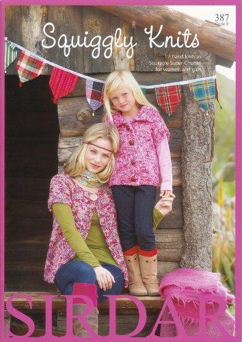 Sirdar Knitting Pattern Book 387 - Squiggly ()