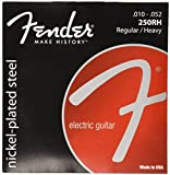 Fender 250RH Nickel Plated Steel Electric Guitar Strings - Regular/Heavy