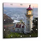 3dRose Haceta Head Lighthouse, Oregon, USA US38 RKL0018 Raymond Klass Wall Clock, 13 by 13″ Review