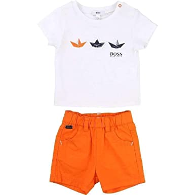 ff7453987cd02 Image Unavailable. Image not available for. Color  Hugo Boss Kids Baby Boys  Short