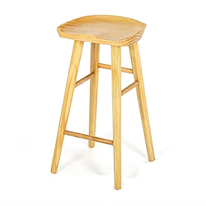 online retailer 03df5 ee9f0 Amazon.com: bar stool Solid Wood High Stool Kitchen Chair ...