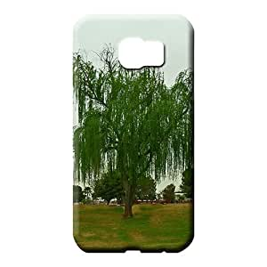 samsung galaxy s6 Classic shell Plastic pictures phone skins weeping willow