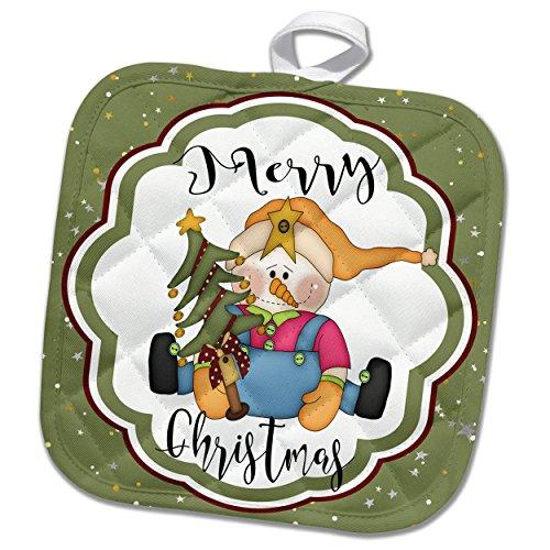 Christmas Tree Pot Holder - 9
