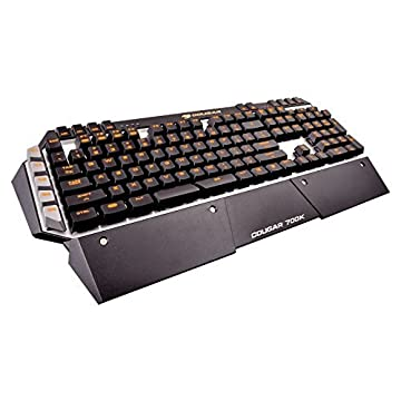 Image of Cougar 700K Gaming Mechanical Keyboard, Cherry MX Blue Switches, Backlight Gaming Keyboards