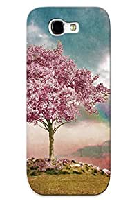 Galaxy Note 2 Ikey Case Cover Skin : Premium High Quality Cherry Tree In The Wind Case(nice Choice For New Year's Day's Gift)