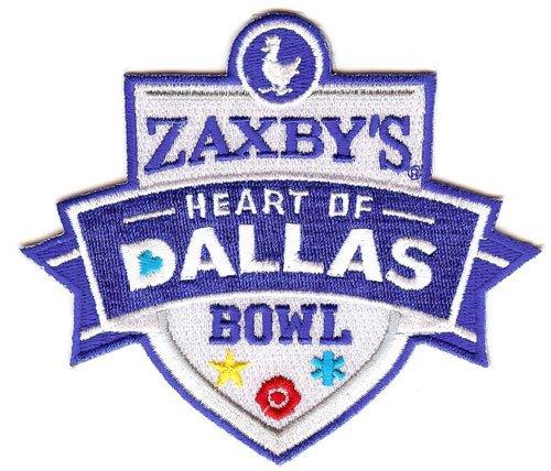 ZaxbyのハートのダラスボウルジャージーパッチArmy Black Knights vs。ノーステキサス平均グリーン   B00RKE3NTE