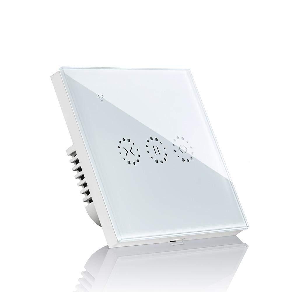 ZABB Support de commutateur de Rideau Intelligent APP Support de contr/ôle /à Distance commutateur de Rideau WiFi Alexa contr/ôle Vocal