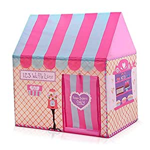 Printed game house children's tent