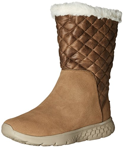 Skechers Performance Womens Go 400 Snugly Winter Boot Chestnut