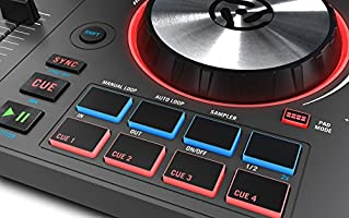 Numark Mixtrack 3   All-In-One 2-Deck DJ Controller for Serato DJ Including  an Long-Throw Pitch Faders, 5-inch High Resolution Jog Wheels and Virtual