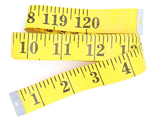 ((2pcs) Extra Long Heading Tape Measure 120 Inch 10ft for Body, Cloth Ruler,)