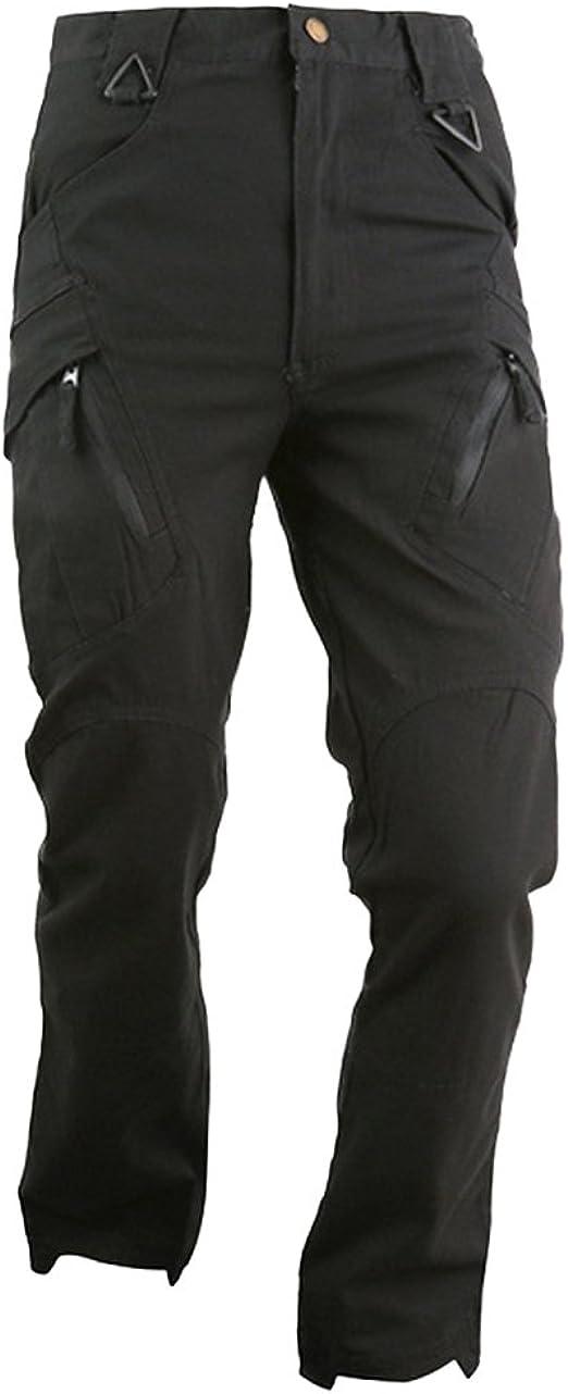 GWELL Pantalones de trabajo de combate para hombre