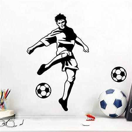QTYUE Niño Fútbol Balón de fútbol Pegatinas de pared para ...