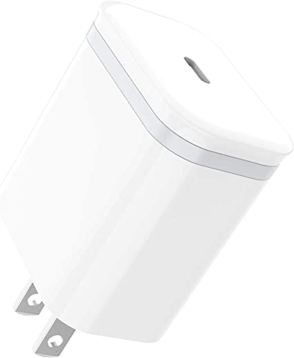 Google Pixel 3a XL LG V50 ThinQ G8 iPad Pro UGREEN USB C Charger 18W PD 3.0 Type C Wall Charger Power Delivery for iPhone SE 11 Pro Max Xs Max XR X 8 Plus Samsung Galaxy S10+ S9+ AirPods Pro