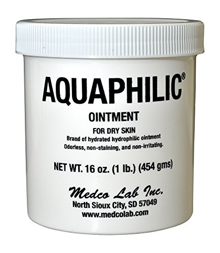 Aquaphilic Ointment For Dry Skin Hydrated Hydrophilic Odorless Non-Staining...