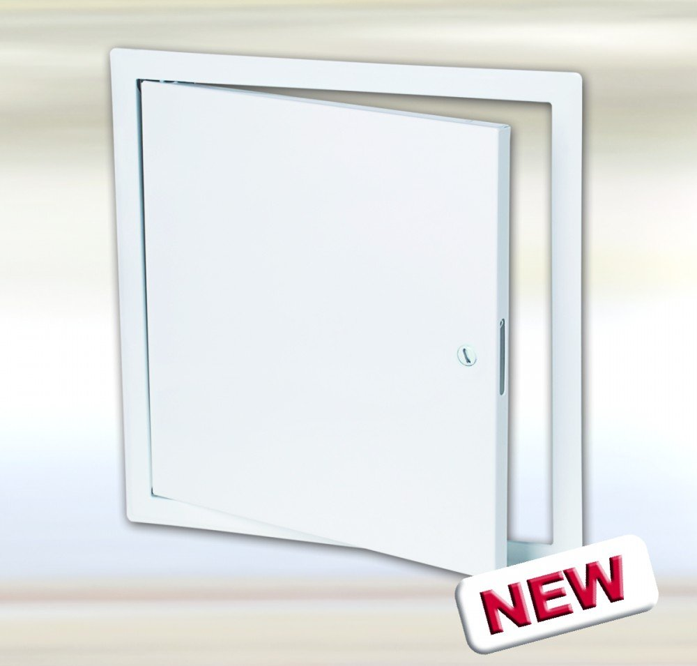 8x8 inch Metal Access Door with a Flush Screwdriver Operated Cam Lock for Walls and Ceilings, B-Series