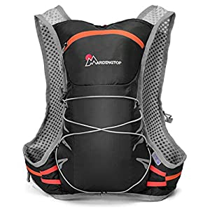 Mardingtop 2-Litres Hydration Pack Running Vest Backpack, Black