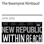 The Swamprat Rimbaud | Jay Deshpande