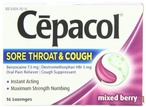 Cepacol Sore Throat & Cough, Maximum Str - Maximum Strength Honey Shopping Results