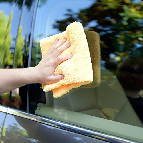 CARCAREZ Microfiber Car Wash Drying Towels Professional Grade Premium Microfiber Towels for Car Wash Drying 16 in.x 16 in. Pack of 6 by CARCAREZ (Image #4)