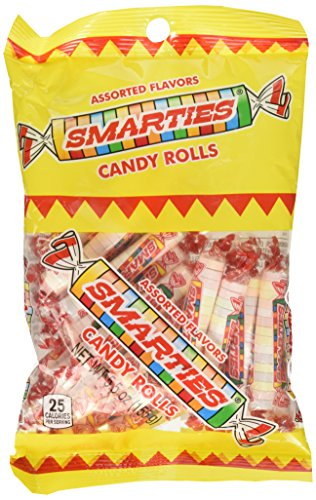 Smarties Original: 5.5 oz (155 g) Bag (Candy Smarties Rolls)