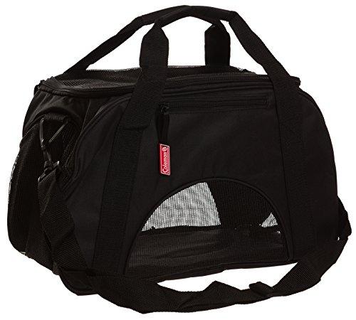 (Coleman Adjustable Shoulder Strap Pet Carrier - Black)