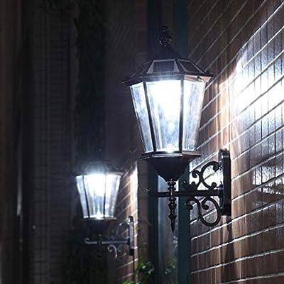 lamparas solares de jardin lámparas solares led para exteriores lamparas solares green in lamparas solares exteriores led lamparas solares fibra optica home depot lamparas solares: Amazon.es: Iluminación