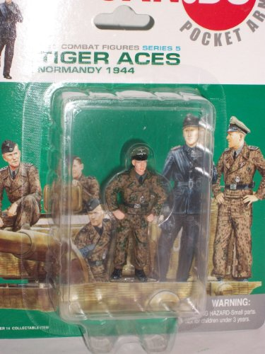 Can Do Pocket Army Tiger Aces Series 5 Figure E 1:35 for sale  Delivered anywhere in USA