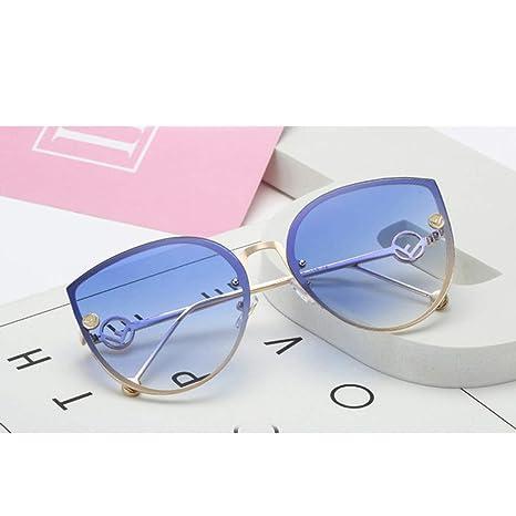 Yangjing-hl Gafas de Sol de Ojo de Gato Mujer Diseño de ...