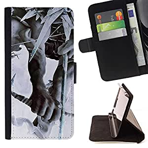 Momo Phone Case / Flip Funda de Cuero Case Cover - Linkin Park la partida de caza - Samsung Galaxy A5 ( A5000 ) 2014 Version