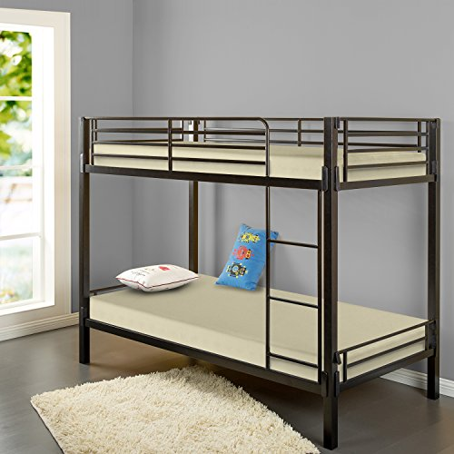 Zinus Sleep Master Memory Foam 5 Inch Bunk Bed / Trundle Bed / Day Bed / Mattress, Twin, Khaki Zinus