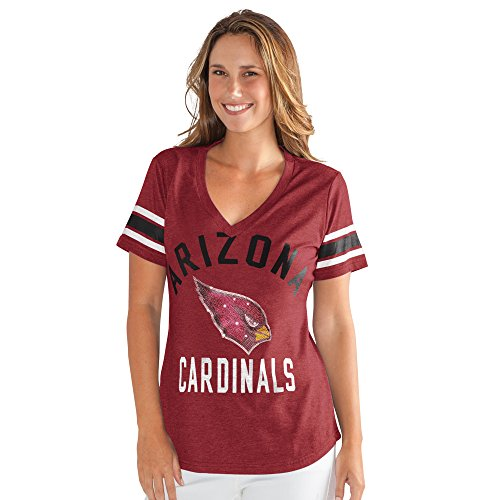 Womens Nfl Game Jersey - NFL Arizona Cardinals Women's The Big Game Tee, Medium, Cardinal