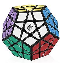 D-FantiX Qiyi QiHeng Megaminx Speed Cube 3x3 Dodecahedron Puzzle Toy Black