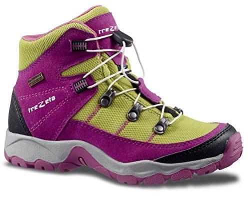 TREZETA shoes Twister WP JR Mädchen Pink-Green Pink-Green