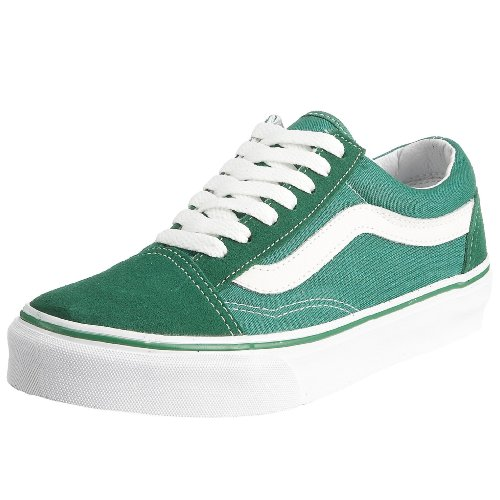 Vans Old Skool, Zapatillas Unisex Adulto Verde (Leprechaun/True White)