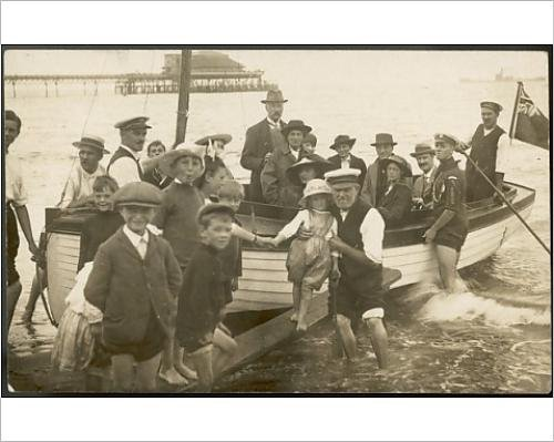 Photographic Print Of Seaside Boat Trip Photo
