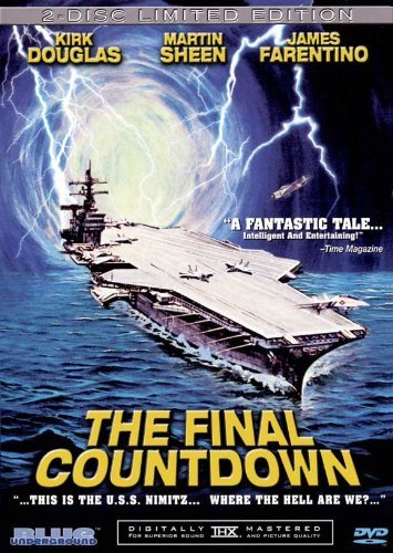 The Final Countdown POSTER Movie (27 x 40 Inches - 69cm x 102cm) (1980) (Style B)