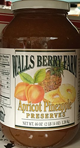 icot Pineapple Preserves 46oz (Pack of 2) (Apricot Pineapple Jam)