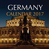 Germany Calendar 2017: 16 Month Calendar