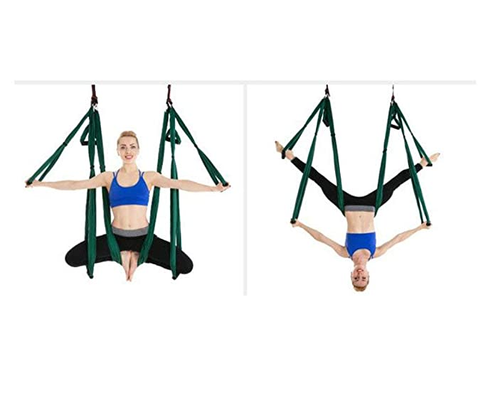 Amazon.com : Mustbe Strong Aerial Yoga Flying, Antigravity ...