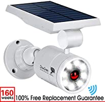 Solar Motion Sensor Light,1400-Lumens Bright LED Spotlight 5W(110W Equiv.) DrawGreen Solar Lights Outdoor Wireless...