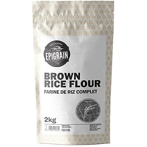 Epigrain Gluten-Free Brown Rice Flour - 4.4 lb (2 (Brown Rice Flour Bread)