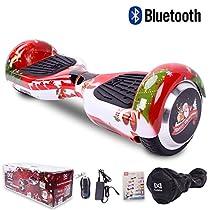 Cool&Fun Hoverboard Elettrico, 12KM/H, Motore 2*350W