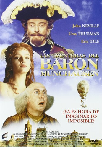 Las aventuras del Barón Munchausen (Non Us Format) (European Format - Zone - Us Aventura