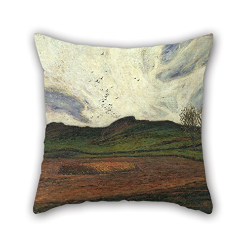 Uloveme Oil Painting Karl Nordström - Storm Clouds Pillow Covers 20 X 20 Inches / 50 By 50 Cm Gift Or Decor For Bar,study Room,deck Chair,couples,monther,him - 2