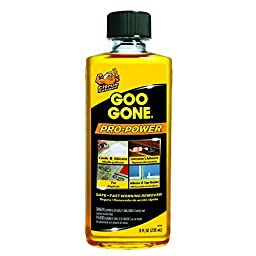 Goo Gone Pro-Power -  Surface Safe, Remover, Great Cleaner, No Harsh Odors, Can be used on tools and machinery, 8 fl oz