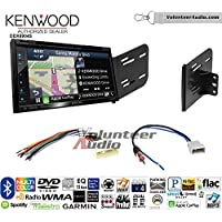 Volunteer Audio Kenwood Excelon DNX694S Double Din Radio Install Kit with GPS Navigation System Android Auto Apple CarPlay Fits 2007-2011 Nissan Versa